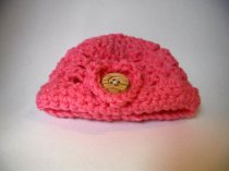 Pink Baby Beanie