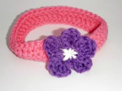 Crochet Girl Headband