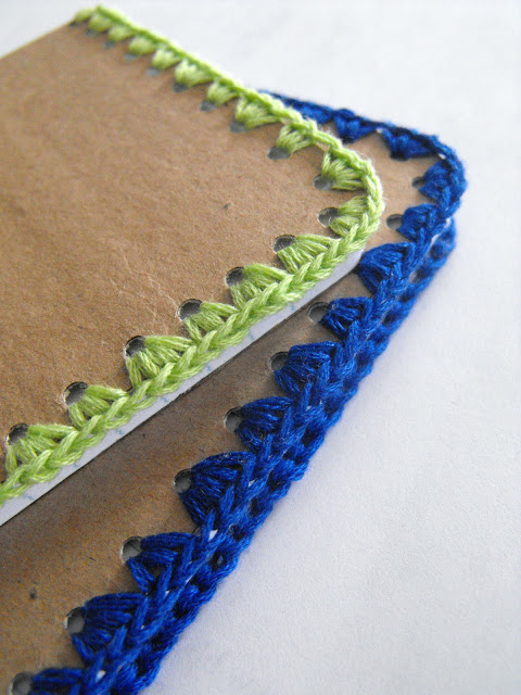 Crochet Edged Journal